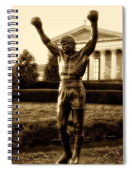 Rocky - Heart Of A Champion  Spiral Notebook