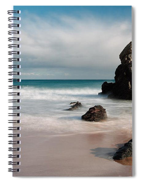 Rocky Beach On Sango Bay Spiral Notebook