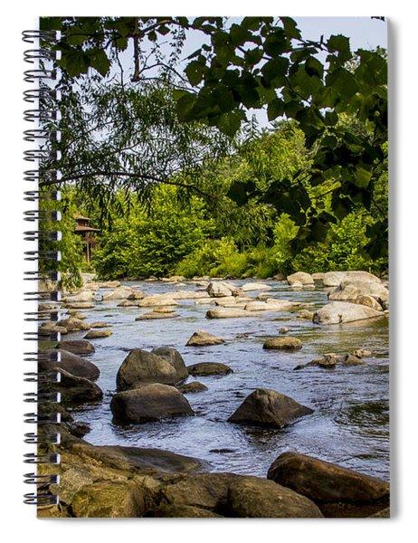 Rocky Broad River Spiral Notebook