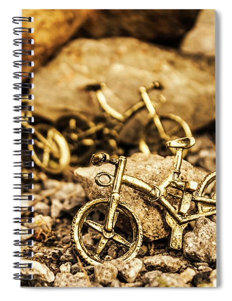 Rocky Cape Bicycles Spiral Notebook