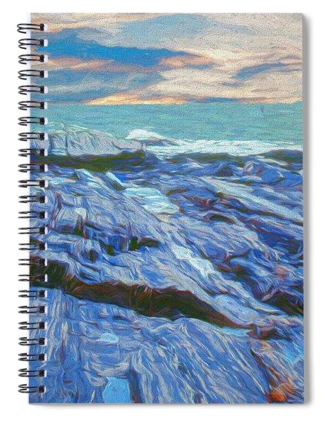 Rocky Maine Coast. Spiral Notebook