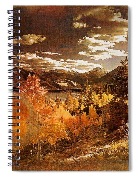 Rocky Mountain Gold 2015 Spiral Notebook