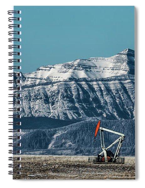 Rocky Mountain Oil Spiral Notebook