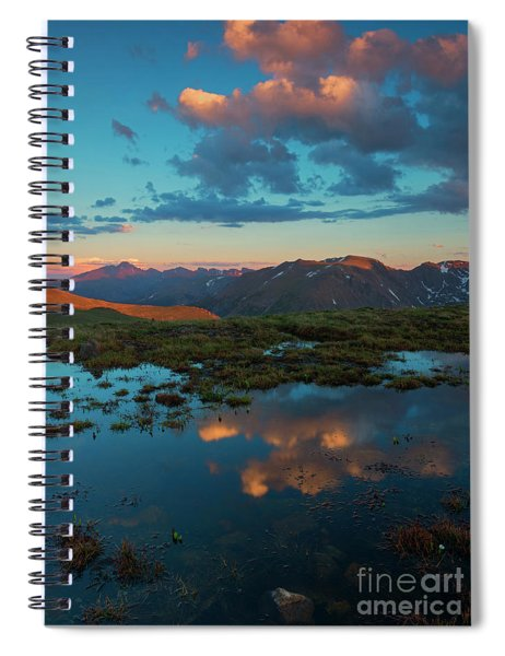Rocky Mountain Reflections Spiral Notebook