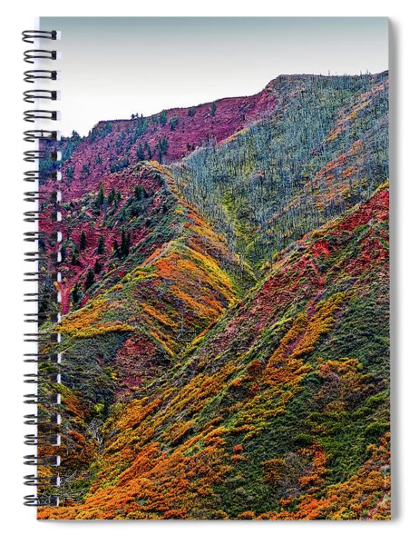 Rocky Mountains In The Fall Spiral Notebook