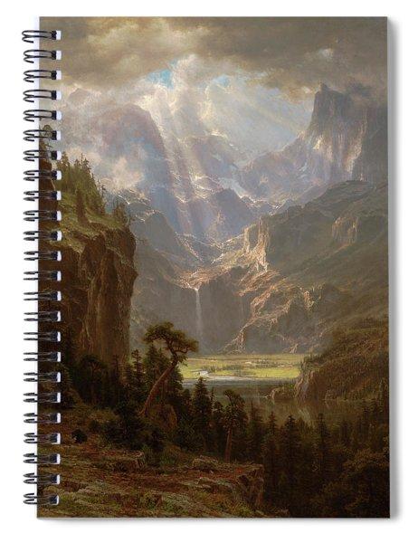Rocky Mountains, Lander's Peak Spiral Notebook