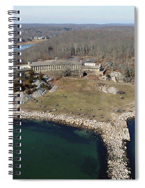 Rocky Neck Paviliion Spiral Notebook