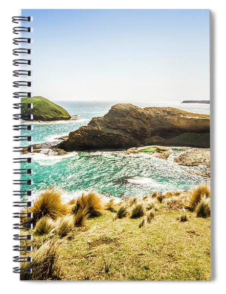 Rocky Ocean Capes Spiral Notebook