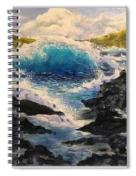 Rocky Sea Spiral Notebook
