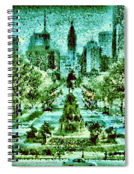 Rocky's View Spiral Notebook