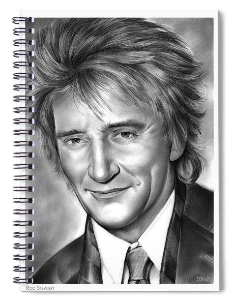 Rod Stewart Spiral Notebook