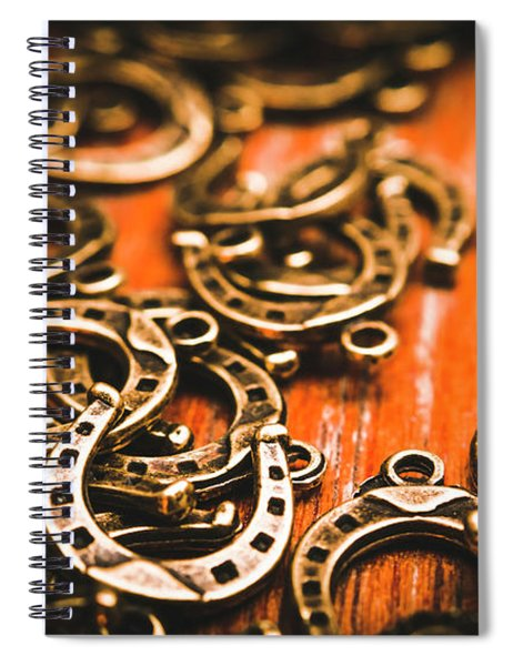 Rodeo Abstract Spiral Notebook