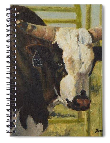 Rodeo Bull 4 Spiral Notebook
