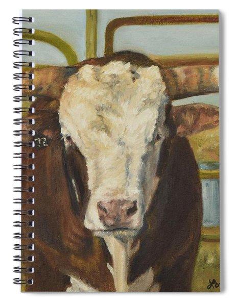 Rodeo Bull 8 Spiral Notebook