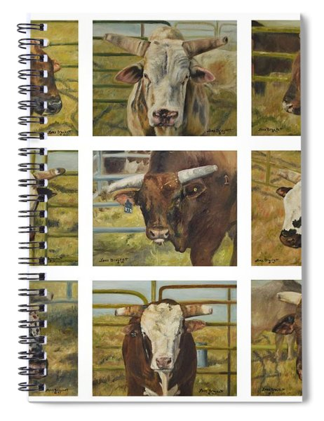 Rodeo Royalty Spiral Notebook