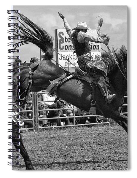 Rodeo Saddleback Riding 15 Spiral Notebook