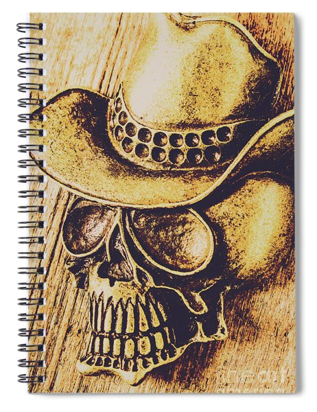 Rodeo Spook Spiral Notebook
