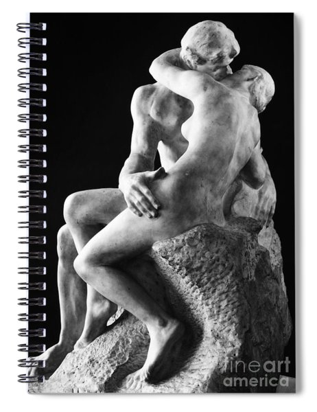 Rodin: The Kiss, 1886 Spiral Notebook