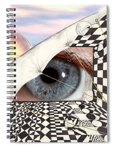 Roll Back Spiral Notebook