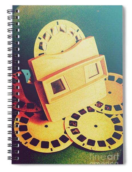 Roll Of Memories Spiral Notebook