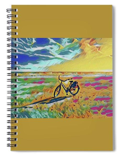 Rollin' Away Spiral Notebook