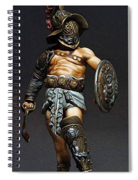 Roman Gladiator - 02 Spiral Notebook