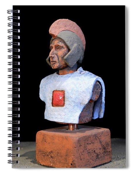 Roman Legionaire - Warrior - Ancient Rome - Roemer - Romeinen - Antichi Romani - Romains - Romarere  Spiral Notebook