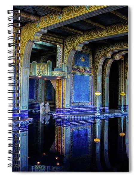 Roman Pool Spiral Notebook