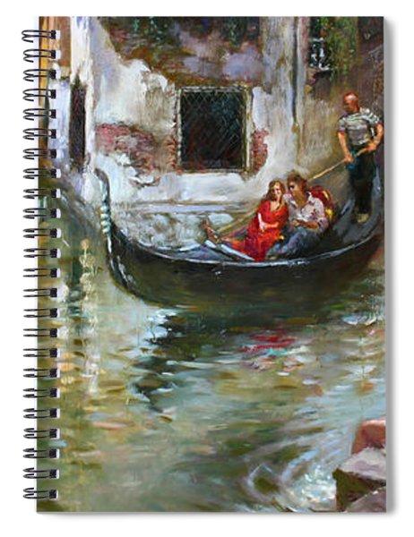 Romance In Venice 2 Spiral Notebook