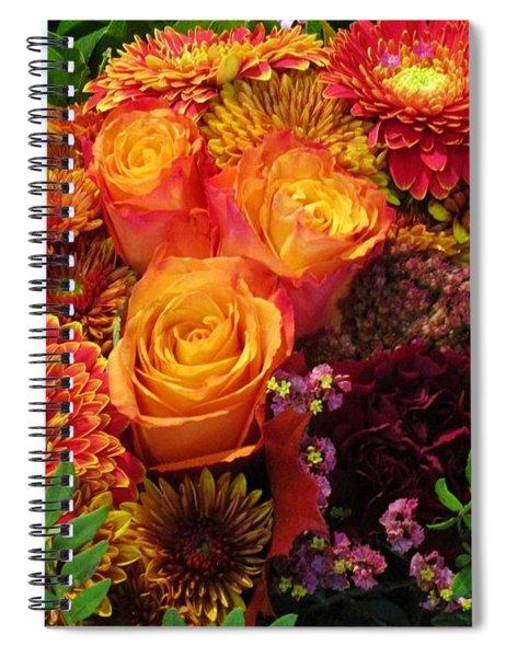 Romance Of Autumn Spiral Notebook