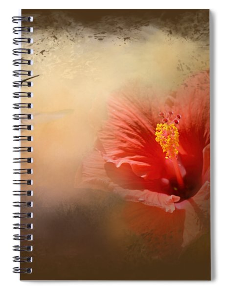 Romancing The Hibiscus Spiral Notebook