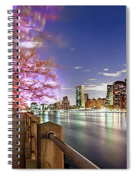 Romantic Blooms Spiral Notebook