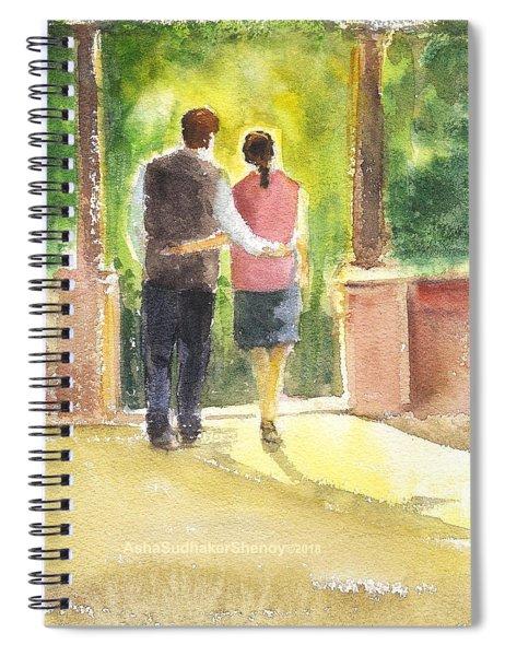 Romantic Couple Spiral Notebook