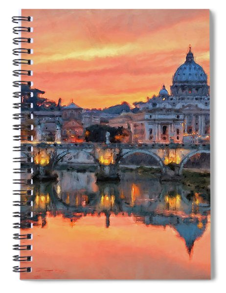 Rome And The Vatican City - 01  Spiral Notebook