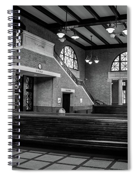 Rome Train Station Spiral Notebook