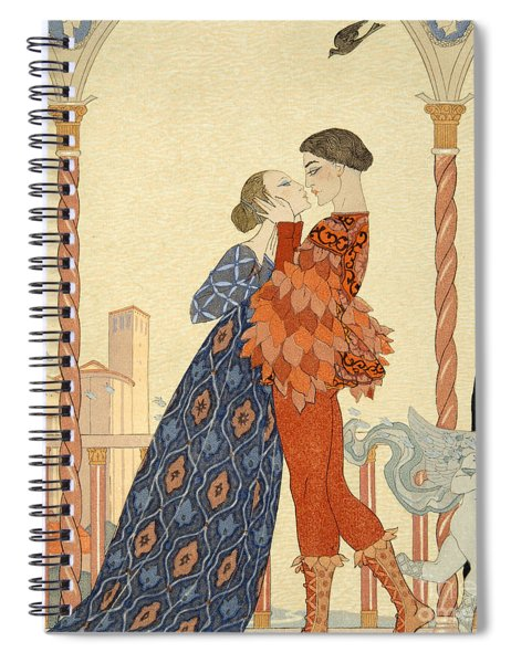 Romeo And Juliette Spiral Notebook