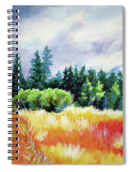 Romp On The Hill Spiral Notebook