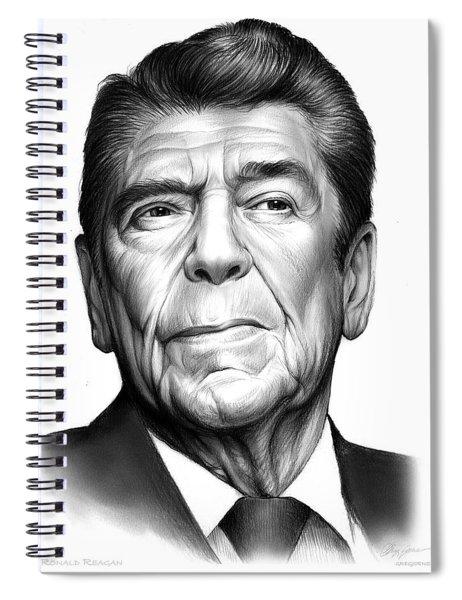 Ronald Reagan Spiral Notebook