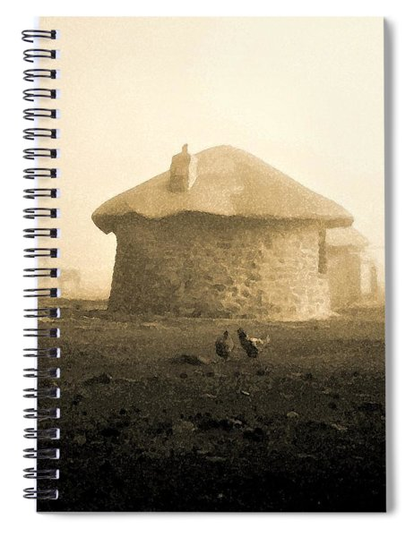 Rondavel In Lesotho Spiral Notebook