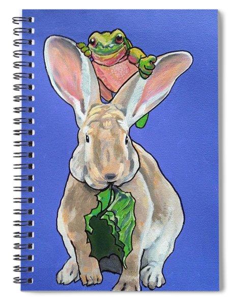 Ronnie The Rabbit Spiral Notebook