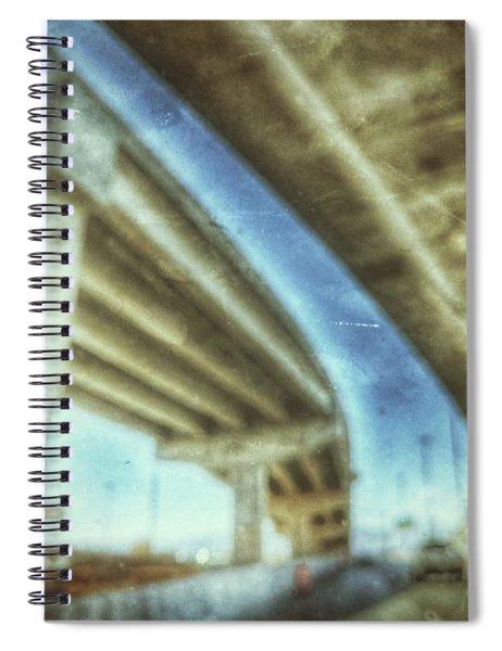 Rooftop Traffic  Spiral Notebook