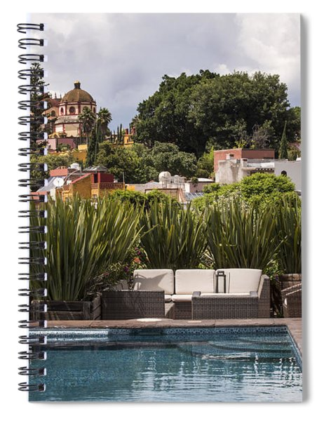 Rooftops Of San Miguel Mexico Spiral Notebook