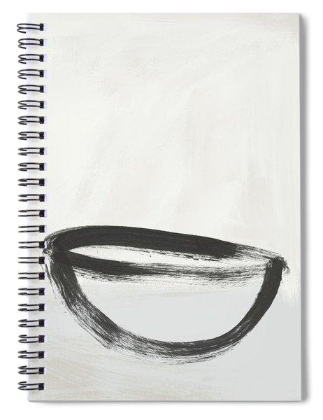 Room To Receive 1- Zen Abstract Art By Linda Woods Spiral Notebook