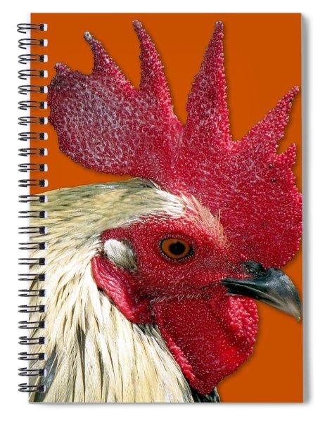 Rooster Spiral Notebook