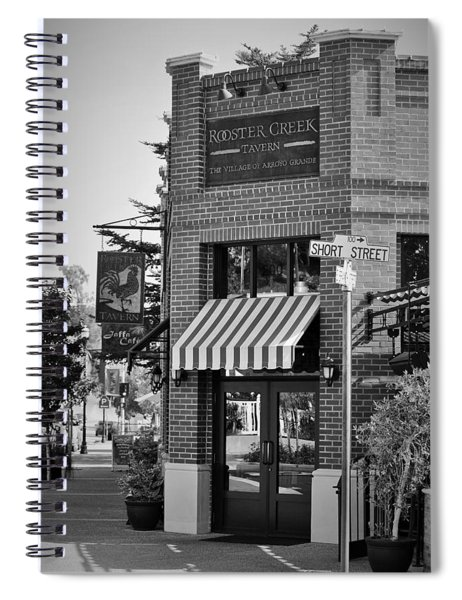 Rooster Creek Tavern Spiral Notebook
