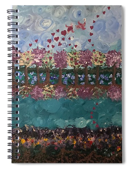Roots And Wings Spiral Notebook