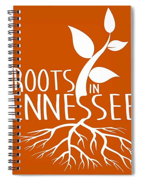 Roots In Tennessee Seedlin Spiral Notebook