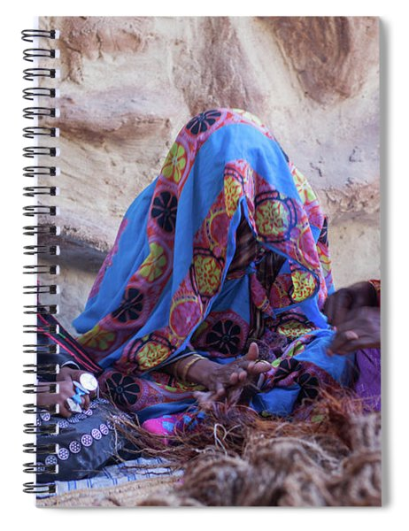 Rope Makers Spiral Notebook