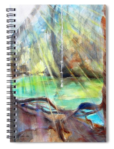 Rope Swing Spiral Notebook