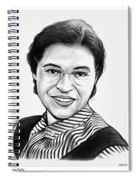 Rosa Parks Spiral Notebook